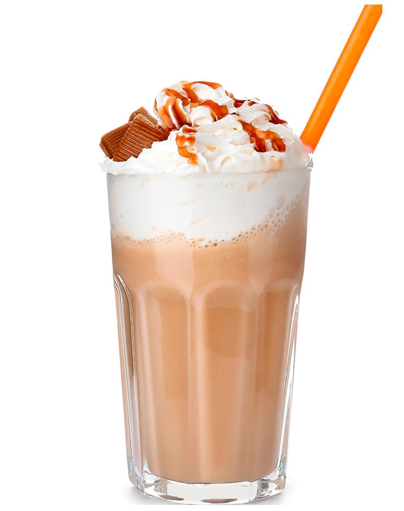 Raw Caramel Milkshake