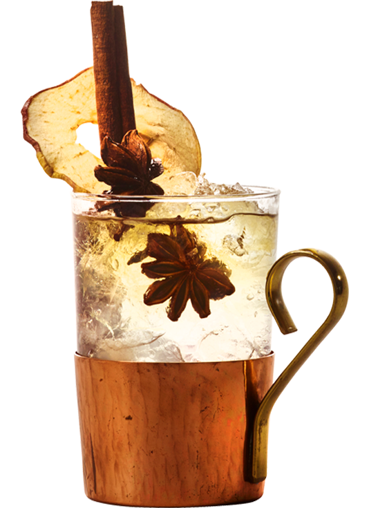 Ginger Elderflower drink