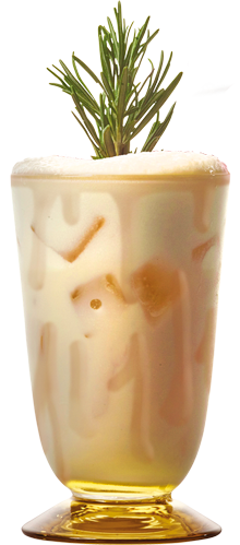 Nordic White Russian drink
