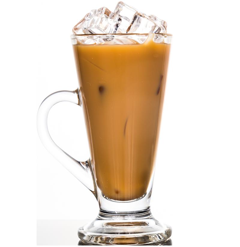 Iskaffe med Råstoff Salty Caramel