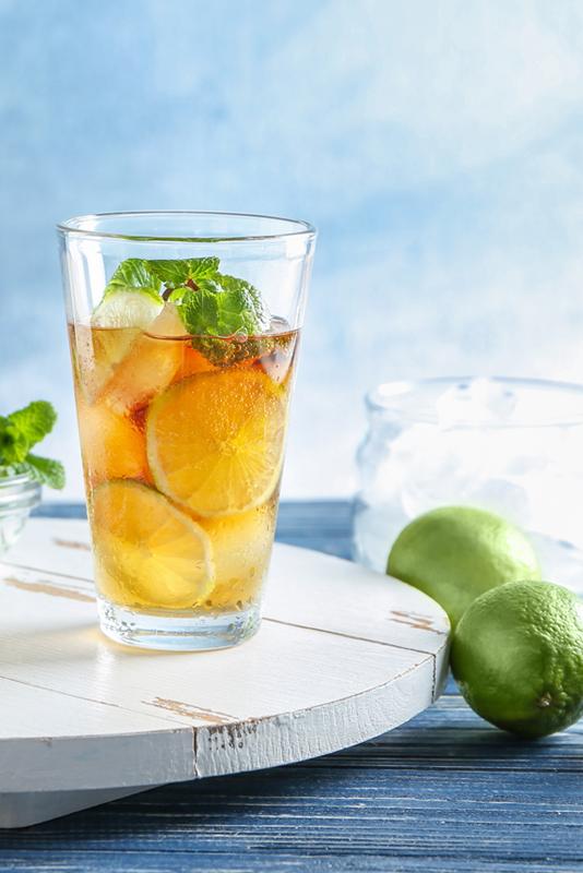 Kæmpe Læske is som drink til sommeraftener