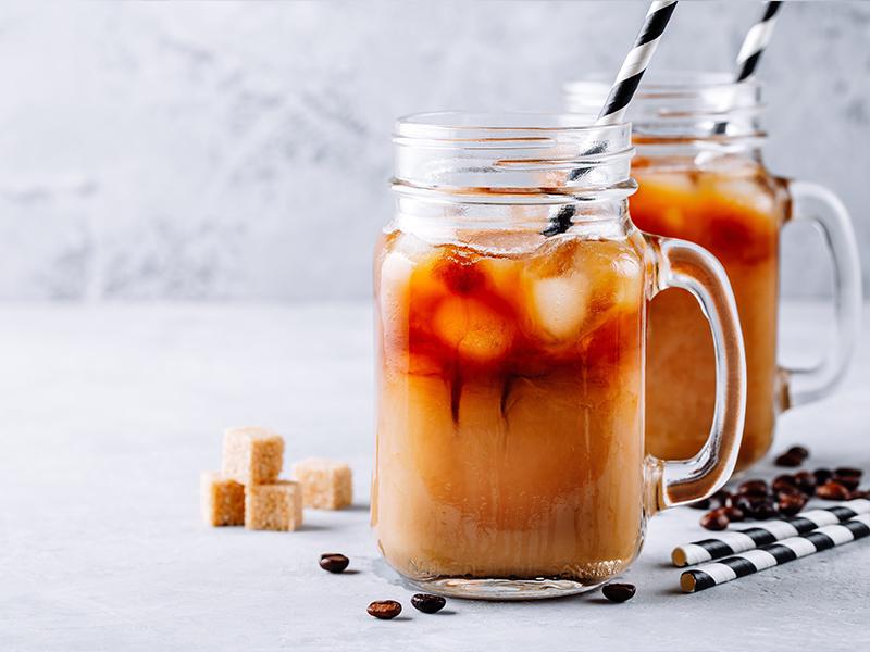 Den bedste iskaffe med Råstoff Salty Caramel